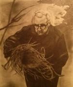 Padre Giovanni in un disegno