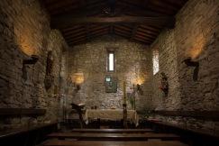 La cappella dell'Eremo